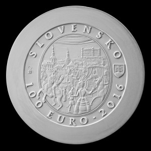 100€ Bratislavské korunovácie – 275. výr. korunovácie Márie Terézie Au - VYREZERVOVANÉ