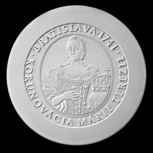 100€ Bratislavské korunovácie Mária Terézia
