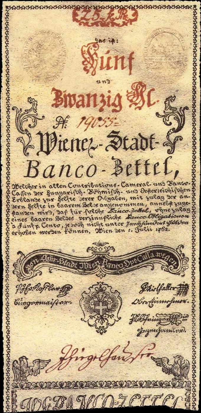 Papierov peniaze mria terzia