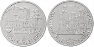 minca Pamiatková rezervácia Banská Bystrica