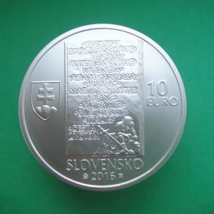 10€ Ladislav Nádaši-Jégé – 150. výročie narodenia