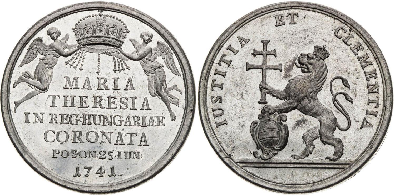 Korunovácie v Bratislave.