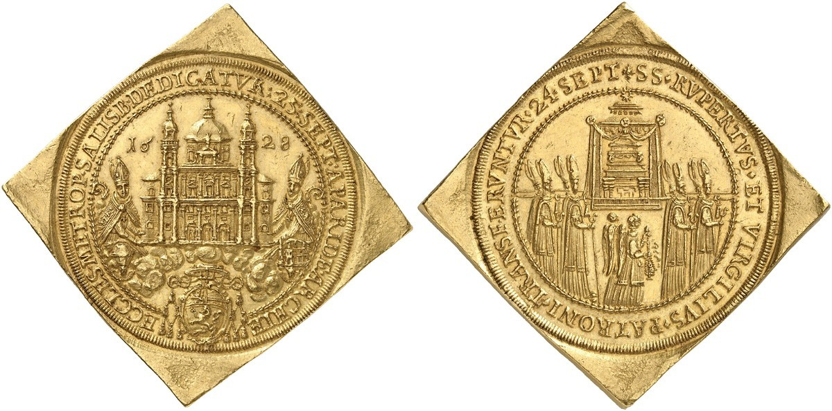 Dreißigfache Dukatenklippe 1628 - Paris von Lodron