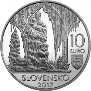 10€ Svetové prírodné dedičstvo - Jaskyne Slovenského krasu