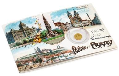 Zlatá medaila Pozdrav z Prahy