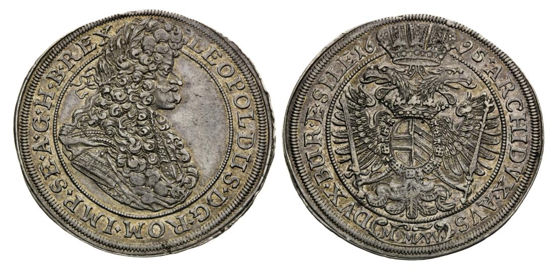 1-2 Tolar 1695 Leopold I.