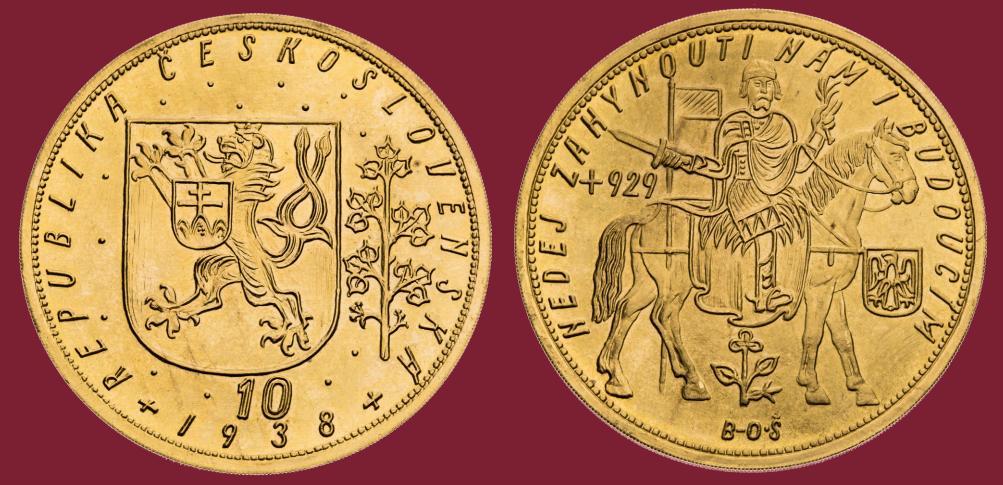 10 dukat 1938