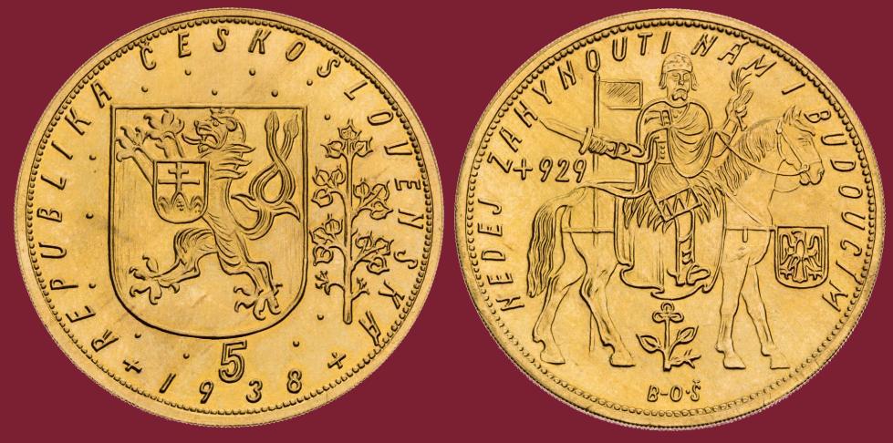 5 dukat 1938